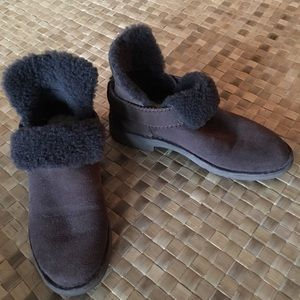 UGG wool lined McKay ankle booties